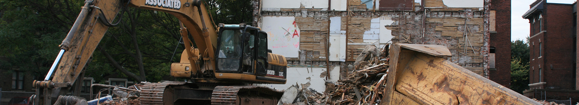 Large & Small Scale Demolition Services